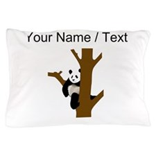 Custom Giant Panda In Tree Pillow Case