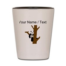 Custom Giant Panda In Tree Shot Glass