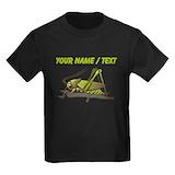 Cricket   personalize Kids T-shirts (Dark)
