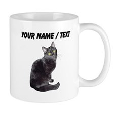 Custom Black Cat Mugs