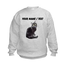 Custom Black Cat Sweatshirt