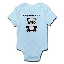 Custom Baby Panda Body Suit