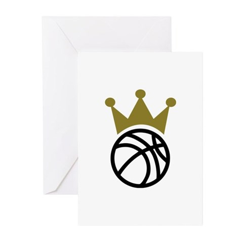 Basketball crown champion Greeting Cards (Pk of 10