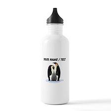 Custom Penguin Family Sports Water Bottle