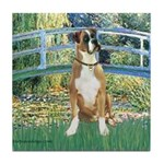 Bridge & Boxer Tile Coaster