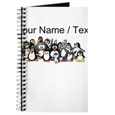 Custom Penguins Journal