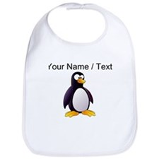 Custom Cartoon Penguin Bib