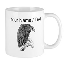 Custom Vulture Sketch Mugs