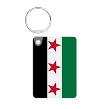 Syrian National Coalition Flag Keychains