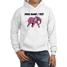 Custom Pink Elephant Jumper Hoody