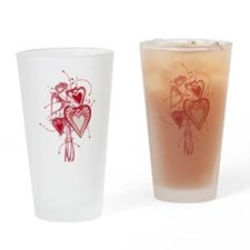 Cute St valentine's day Drinking Glass