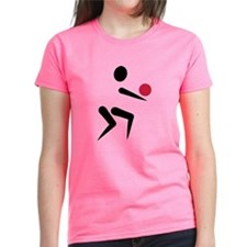 Volleyball icon ball Tee