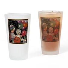 Vintage Birthday Party Drinking Glass
