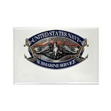 USN Sub Dolphins Iron Men Magnets