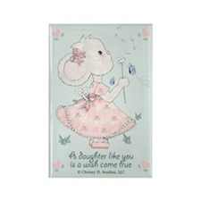 Daughter Wish Come True Rectangle Magnet