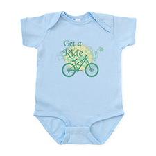 Get a ride Biking Infant Bodysuit