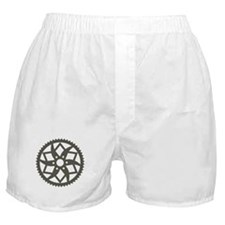 Bike chainring Boxer Shorts