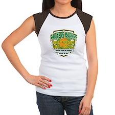 Personalized Farmers Market Women's Cap Sleeve T-S