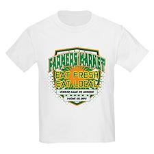 Personalized Farmers Market T-Shirt