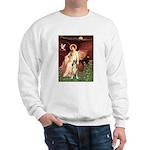 Seated Angel & Boxer Sweatshirt