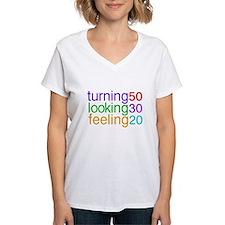 Turning 50 Looking 30 Shirt