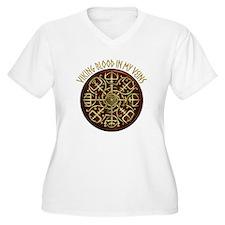 Nordic Guidance - Viking Blood Plus Size T-Shirt