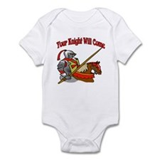 Your Knight Will Come Infant Bodysuit