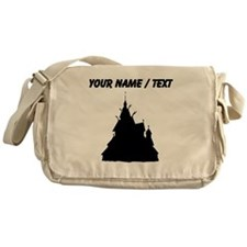 Custom Castle On A Hill Messenger Bag