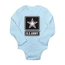 U.S. Army Star Logo [b/w] Onesie Romper Suit