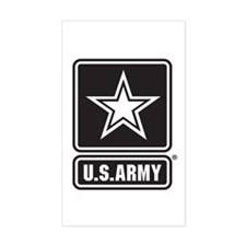 U.S. Army Star Logo [b/w] Decal