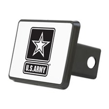 U.S. Army Star Logo [b/w] Hitch Cover