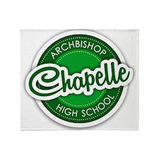 Archbishop Chapelle High School Logo Throw Blanket