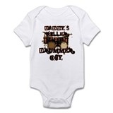 Daddy's Killer Drummer Boy Onesie