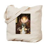 The Queen & her Boxer Tote Bag