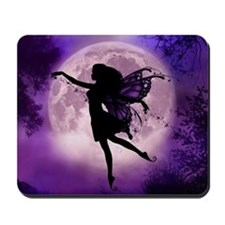 Midnight Stroll Fairy Mousepad