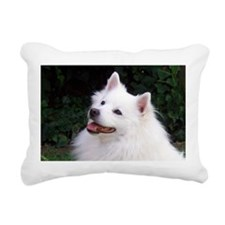 american eskimo Rectangular Canvas Pillow