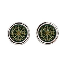 Nordic Guidance - Green Cufflinks