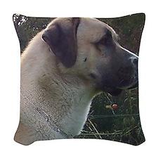 anatoilian shepherd Woven Throw Pillow