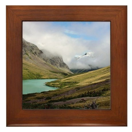 Glacier Framed Tile