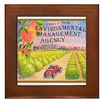 Orange County E.M.A. Framed Tile