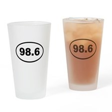 98.6 Drinking Glass