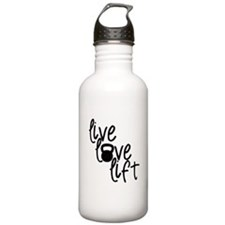 Live, Love, Lift Water Bottle