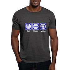 Eat.Sleep.Video T-Shirt