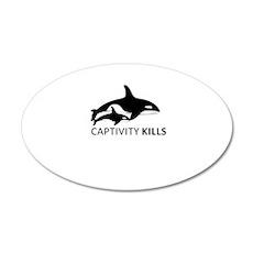 Captivity Kills Wall Decal