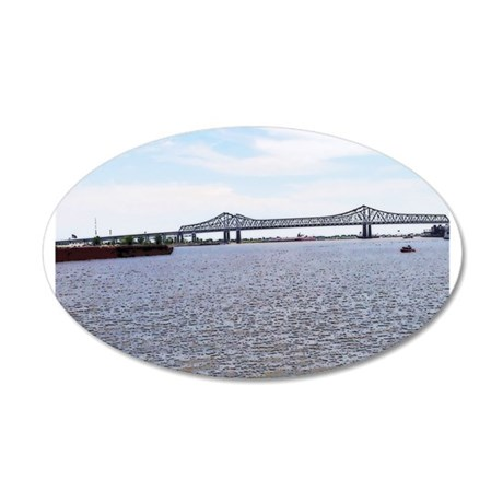 The Mississippi Of New Orleans Wall Decal