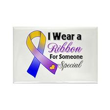 Bladder Cancer Support Rectangle Magnet (100 pack)