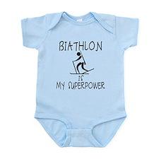 BIATHLON is My Superpower Infant Bodysuit