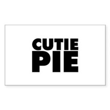 Cutie Pie Decal