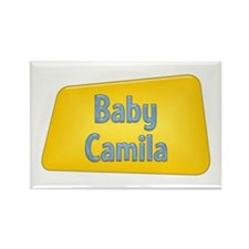 Baby Camila Rectangle Magnet (100 pack)