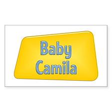 Baby Camila Rectangle Decal